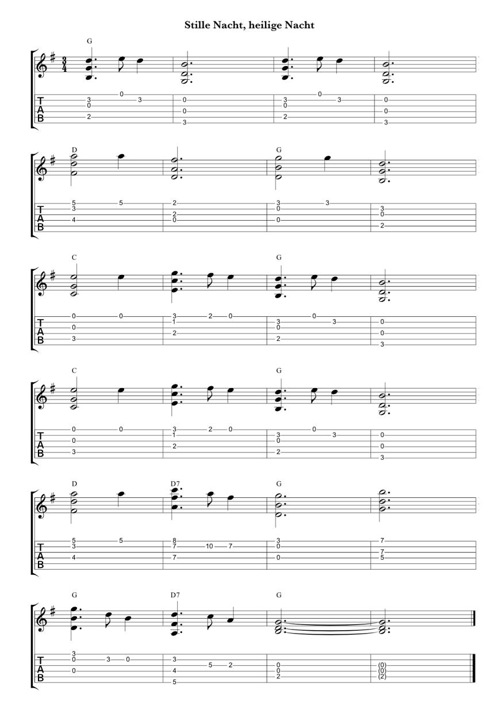 Es weihnachtet sehr - Weihnachtslieder für Gitarre arrangieren ...